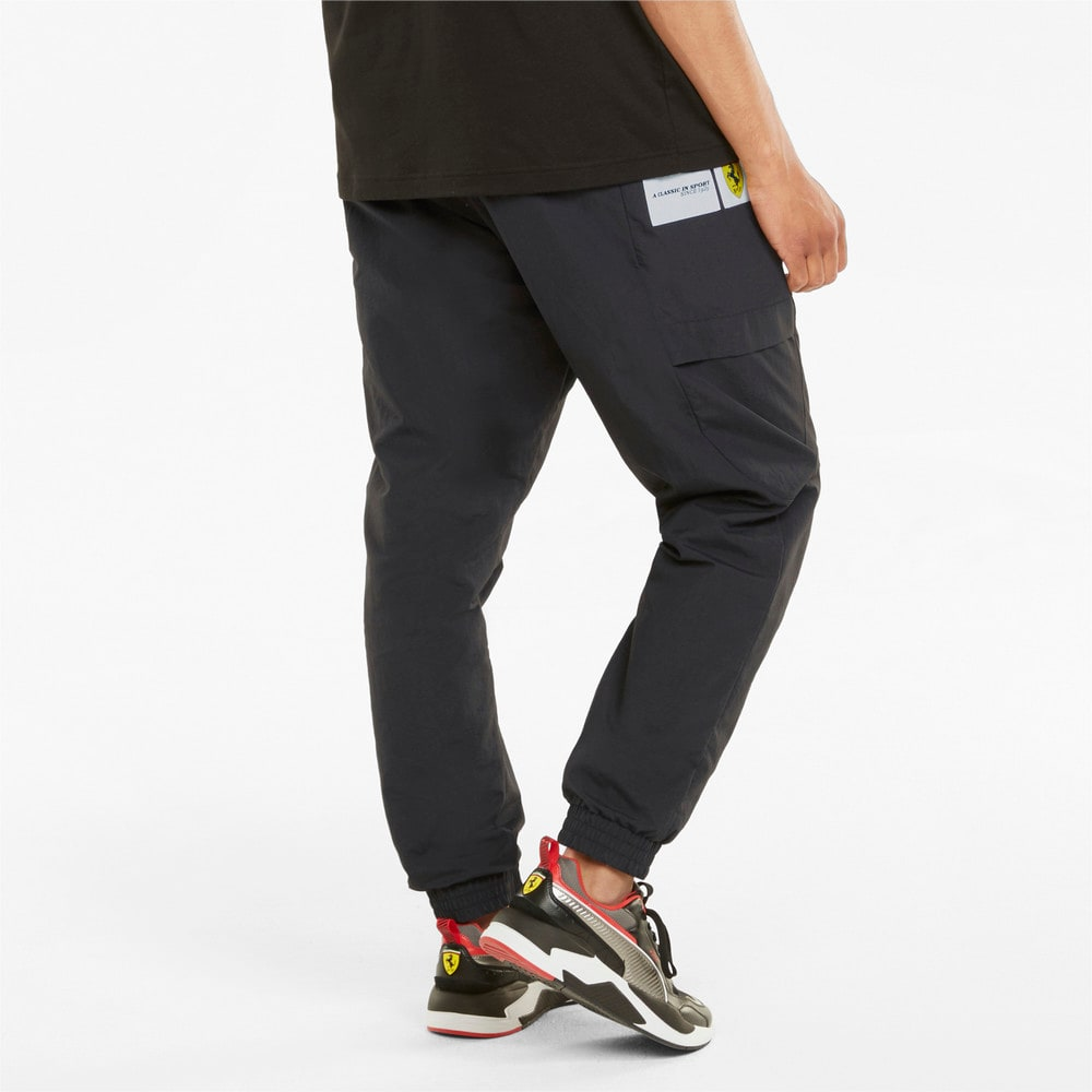 Изображение Puma Штаны Scuderia Ferrari Race Statement Woven Men's Pants #2: Puma Black