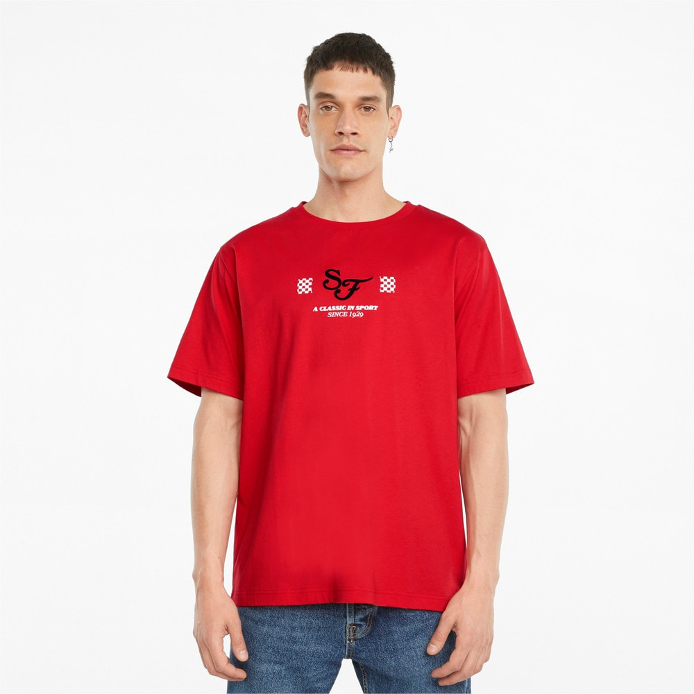 Изображение Puma Футболка Scuderia Ferrari Race Statement Men's Tee #1