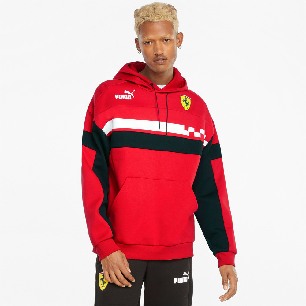 Imagen PUMA Polerón con capucha para hombre Scuderia Ferrari Race SDS #1