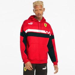 Polerón con capucha para hombre Scuderia Ferrari Race SDS