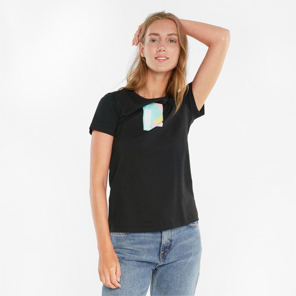 Görüntü Puma PUMA INTERNATIONAL Grafikli Kadın T-shirt #1