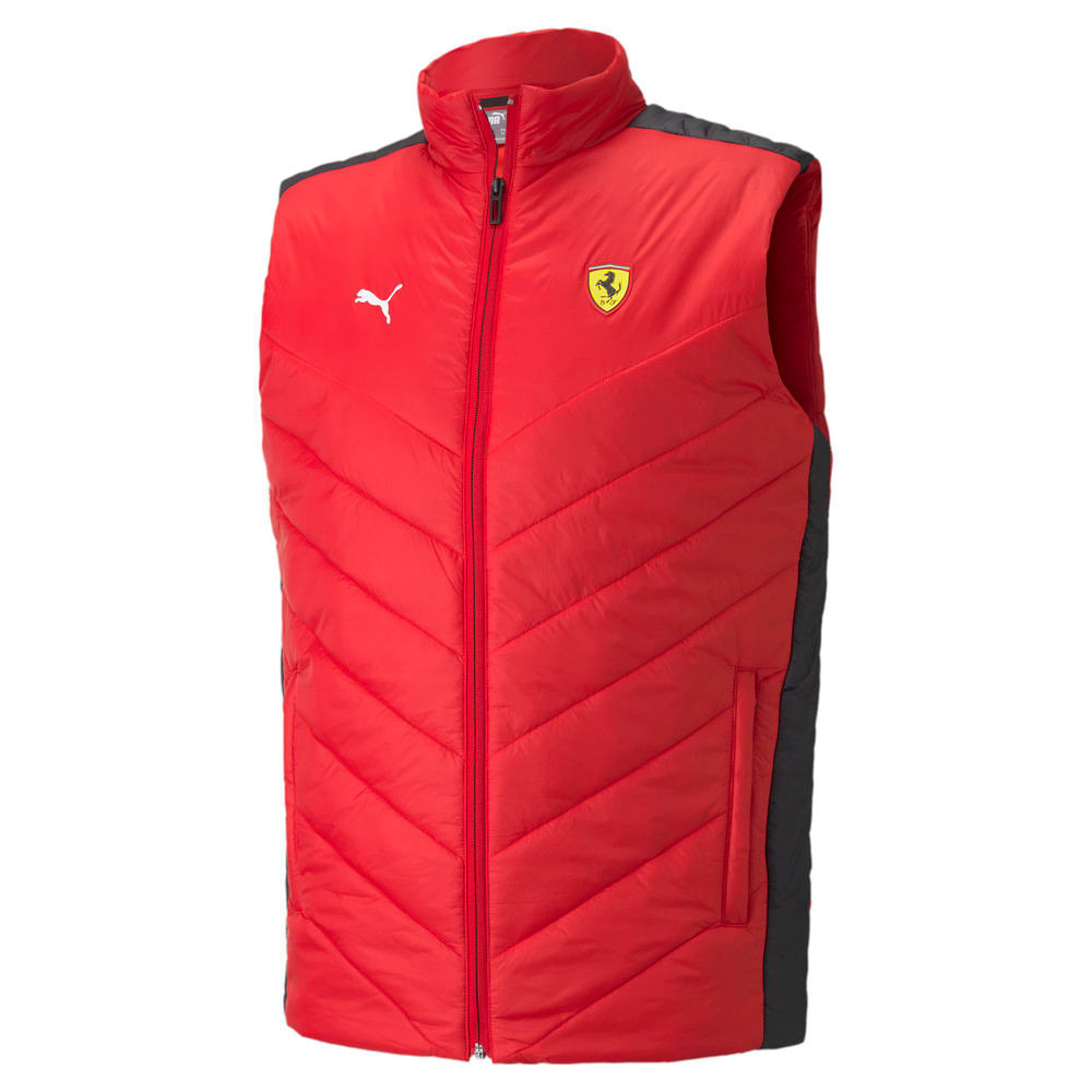 Зображення Puma Жилет Scuderia Ferrari Race Padded Men's Vest #1: rosso corsa