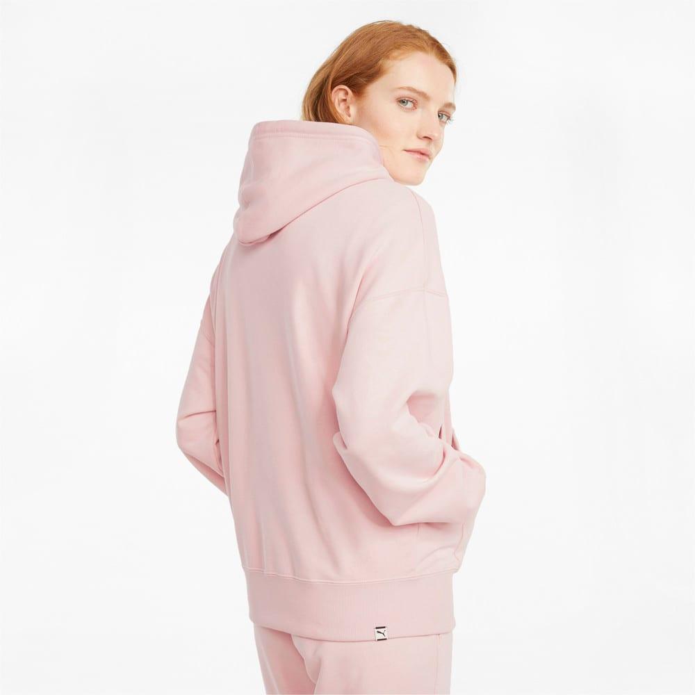 Imagen PUMA Polerón con estampado gráfico y capucha para mujer Downtown #2