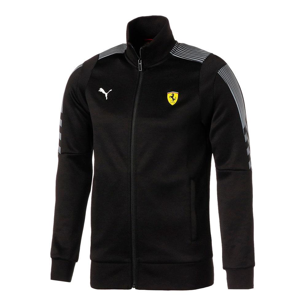 Image Puma Scuderia Ferrari Race T7 Men's Track Jacket #1
