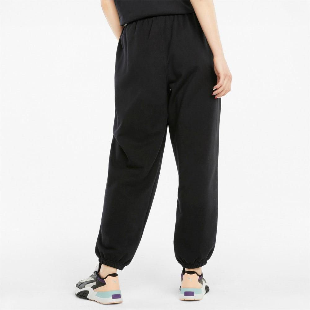 Изображение Puma Штаны Downtown Women's Sweatpants #2: Puma Black