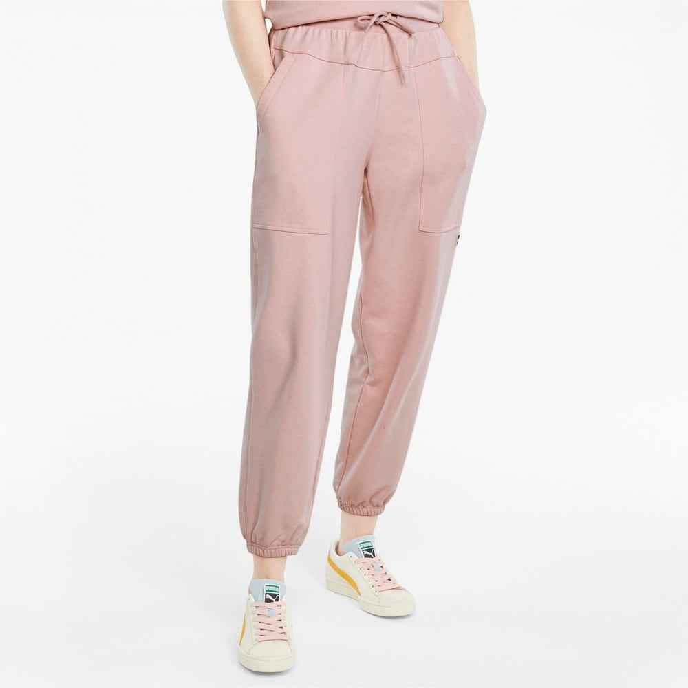 Imagen PUMA Pantalones deportivos para mujer Downtown #1