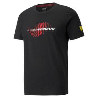Image PUMA Camiseta Scuderia Ferrari Chequered Flag Masculina