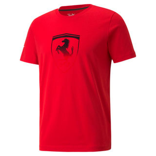 Image PUMA Camiseta Plus Scuderia Ferrari Race Big Shield Masculina