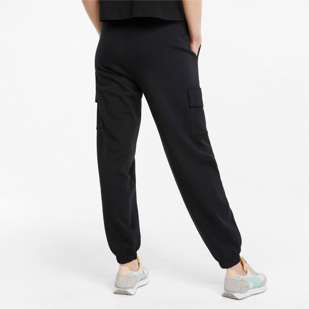 Изображение Puma Штаны CLSX Cargo Women's Sweatpants #2: Puma Black