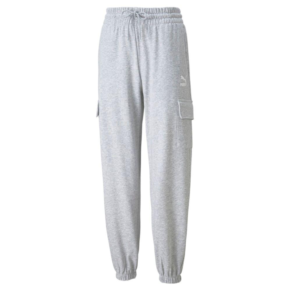 Imagen PUMA Pantalones deportivos cargo para mujer CLSX #1