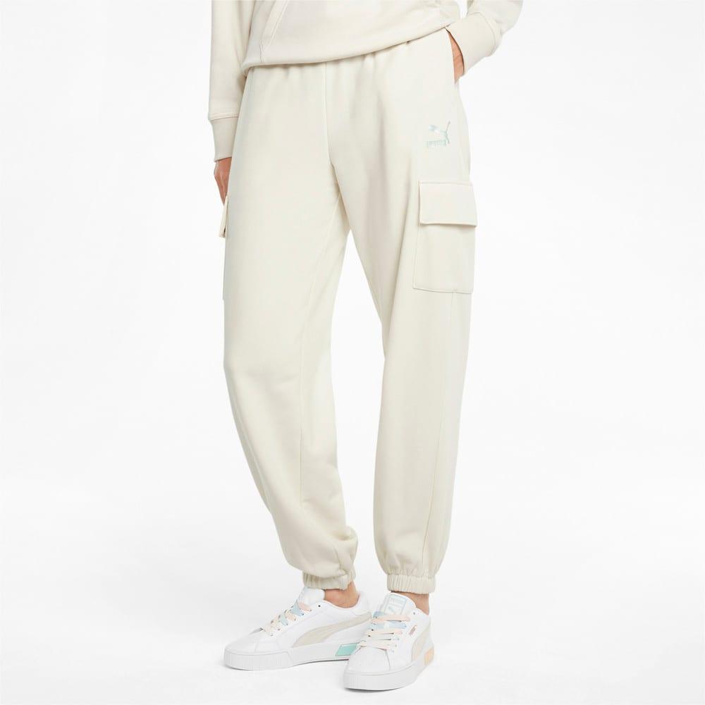 Изображение Puma Штаны CLSX Cargo Women's Sweatpants #1
