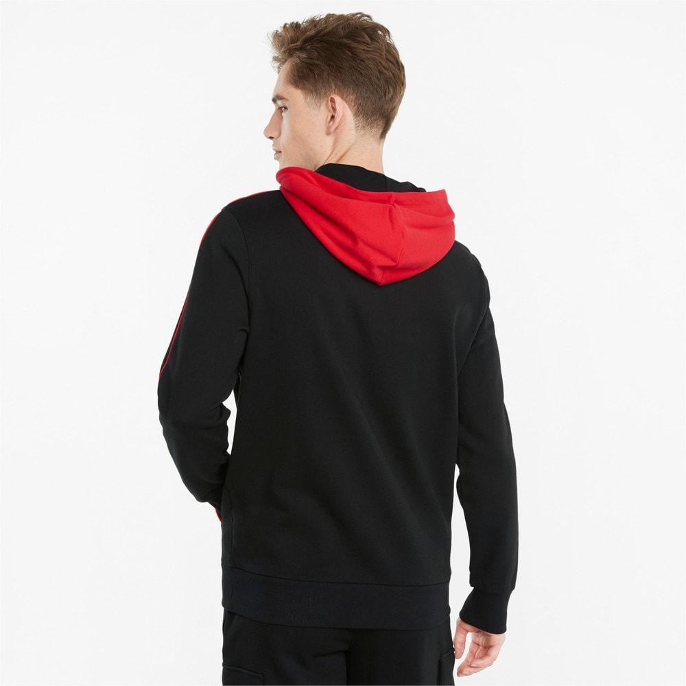 Görüntü Puma CLSX Şerit Detaylı Erkek Kapüşonlu Sweatshirt #2