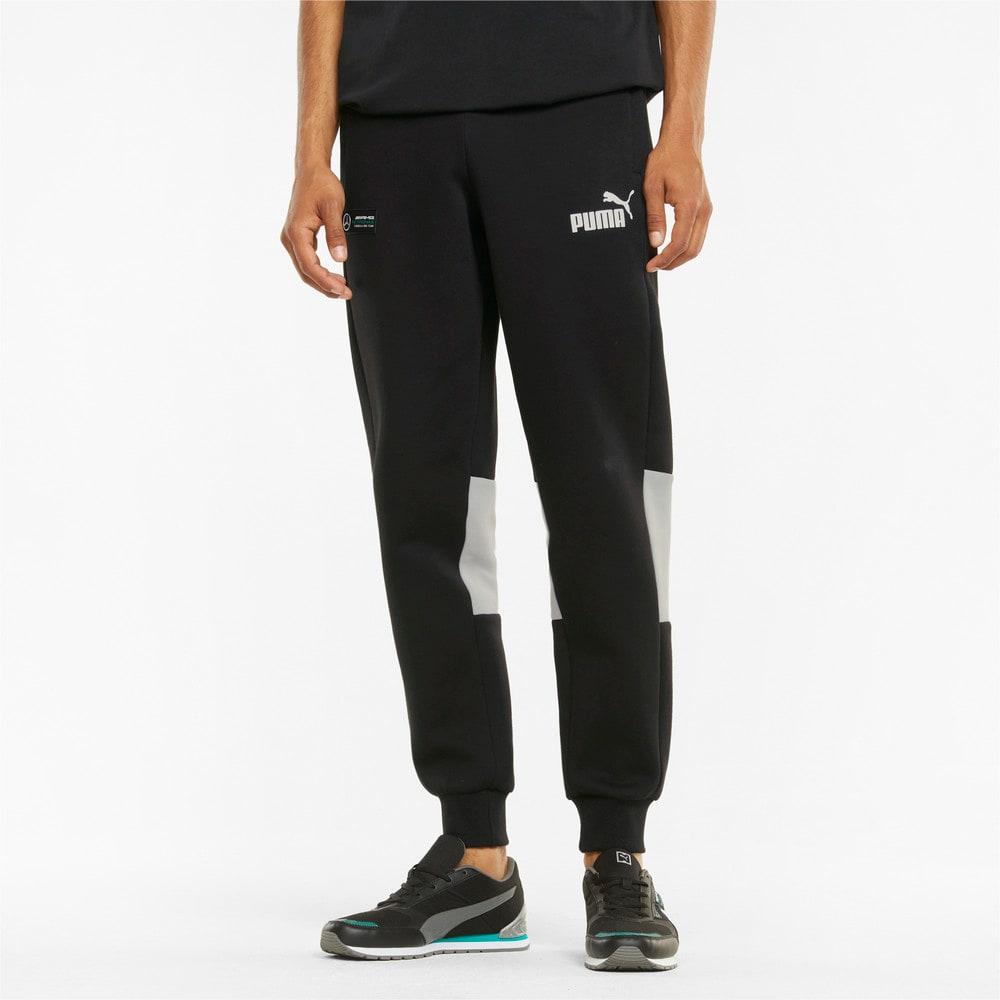 Изображение Puma Штаны Mercedes F1 SDS Men's Pants #1: Puma Black