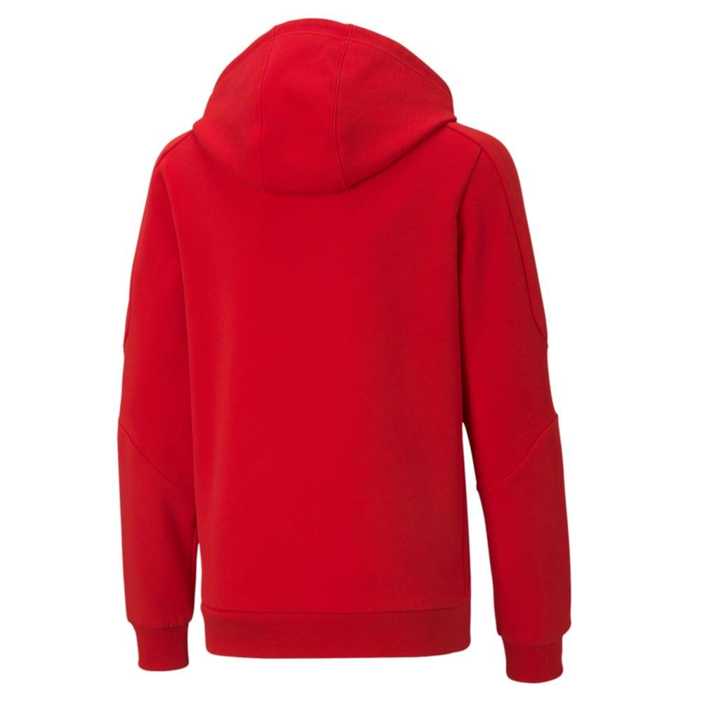 Image Puma Scuderia Ferrari Race Hooded Youth Sweat Jacket #2