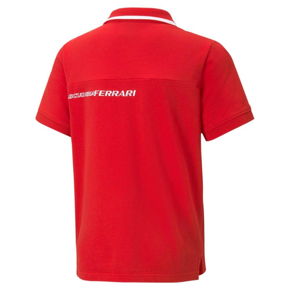 Image Puma Scuderia Ferrari Race Youth Polo Shirt #2