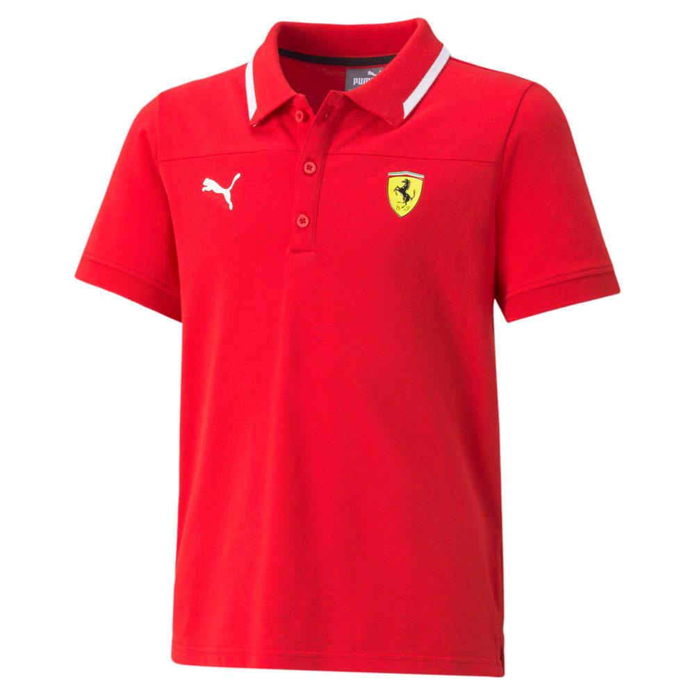 Image Puma Scuderia Ferrari Race Youth Polo Shirt #1