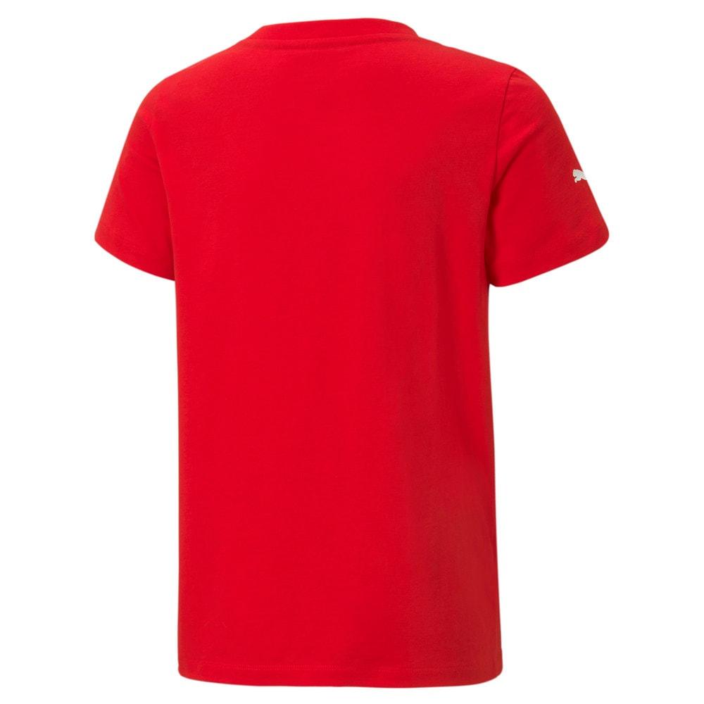 Görüntü Puma SCUEDERIA FERRARI Race Motorsport Damalı Bayrak Youth T-shirt #2