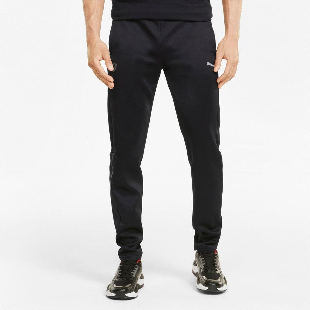 Зображення Puma Штани Scuderia Ferrari Style T7 Men's Track Pants #1: Puma Black