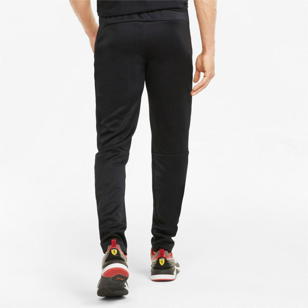 Зображення Puma Штани Scuderia Ferrari Style T7 Men's Track Pants #2: Puma Black