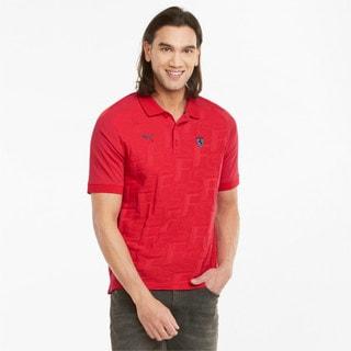 Изображение Puma Поло Scuderia Ferrari Style Jacquard Men's Polo Shirt