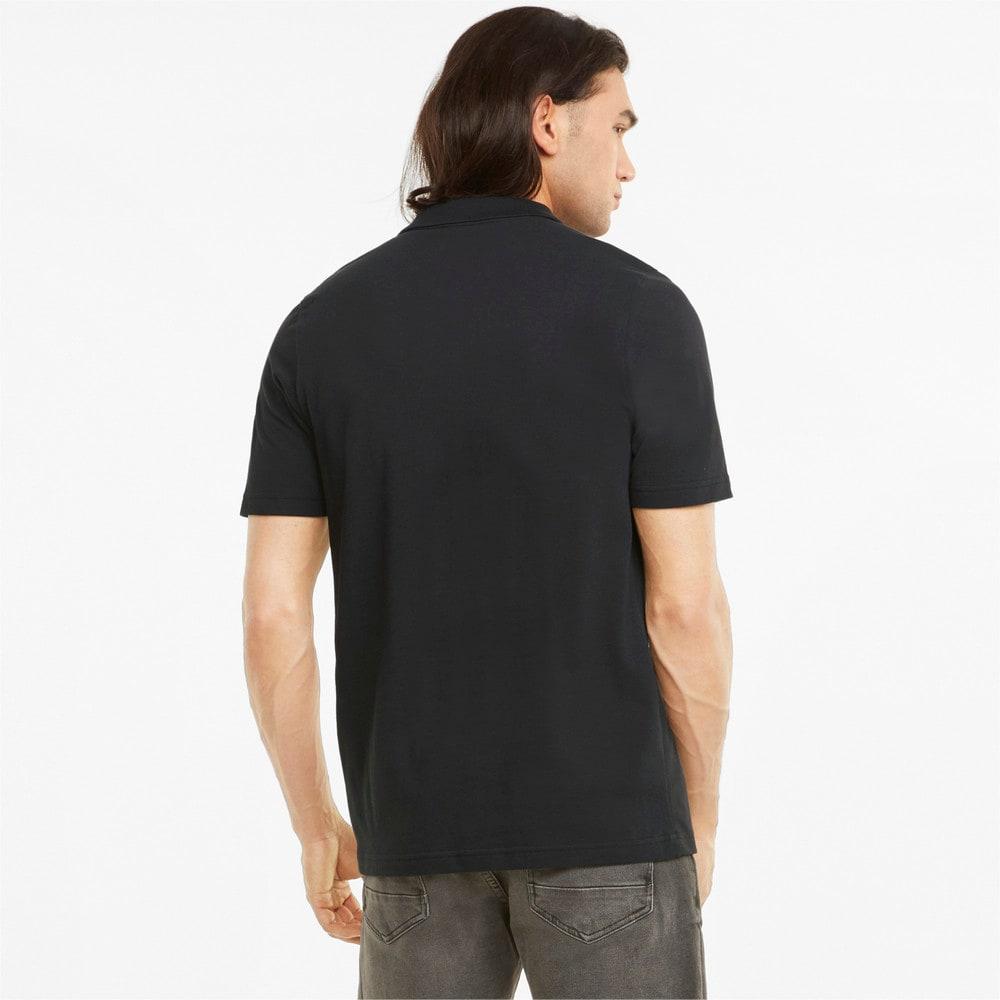 Изображение Puma Поло Scuderia Ferrari Style Men's Polo Shirt #2: Puma Black
