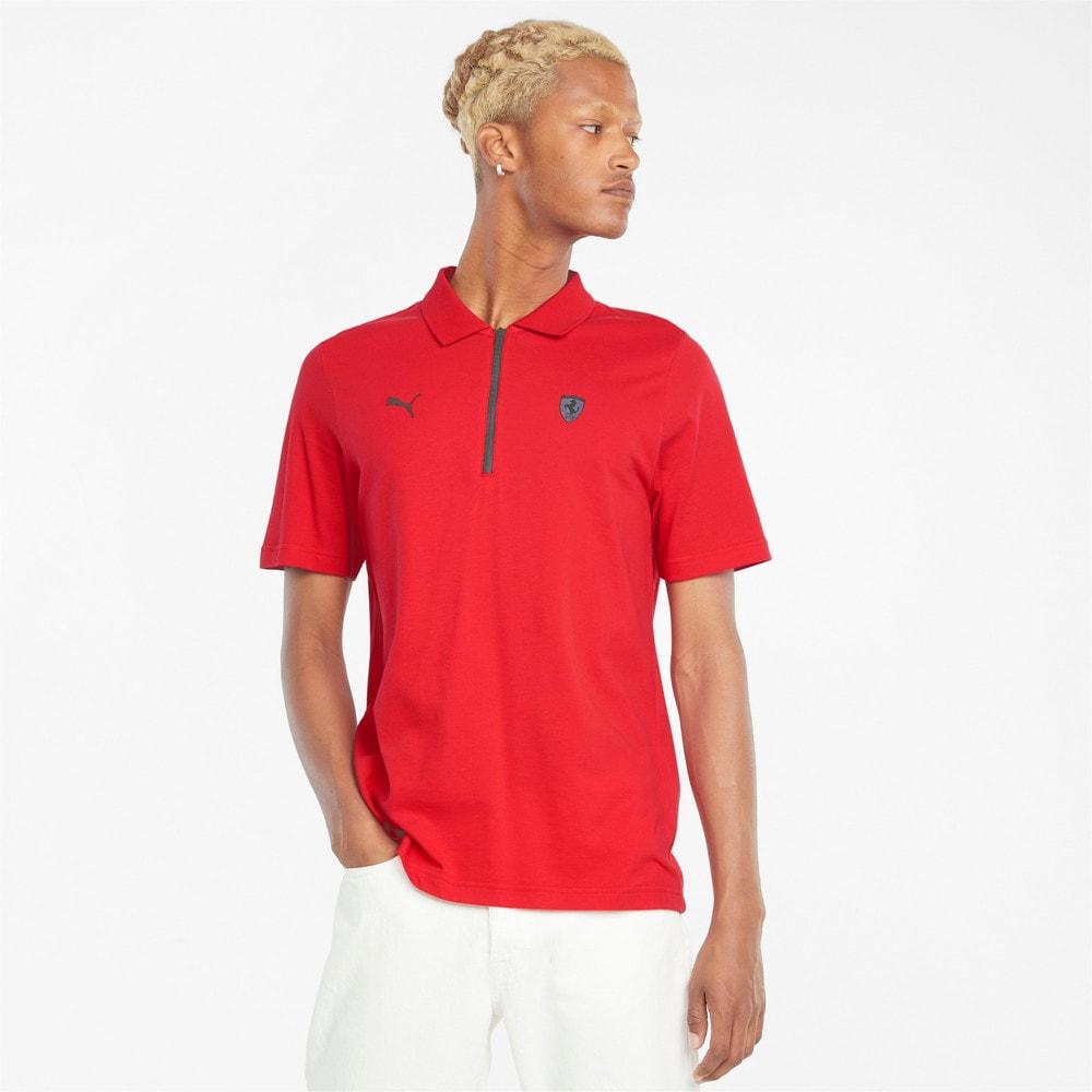 Зображення Puma Поло Scuderia Ferrari Style Men's Polo Shirt #1: rosso corsa