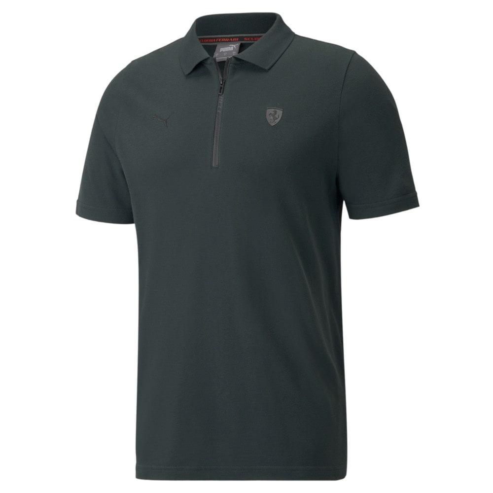 Изображение Puma Поло Scuderia Ferrari Style Men's Polo Shirt #1: Midnight Green