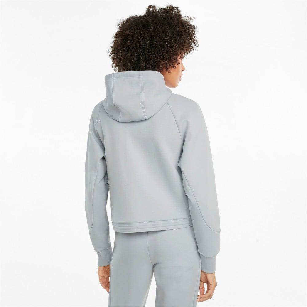Изображение Puma Толстовка Scuderia Ferrari Style Hooded Women's Sweat Jacket #2: Glacial Blue