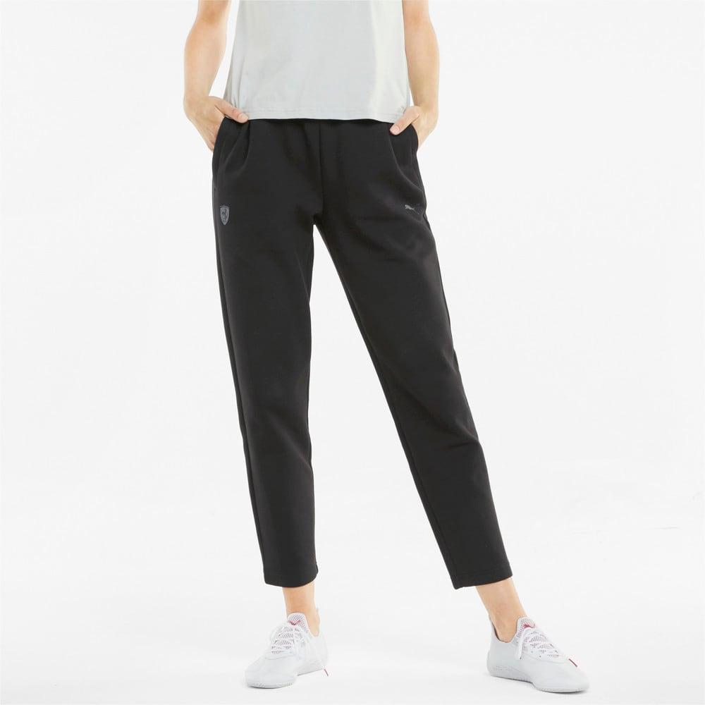 Изображение Puma Штаны Scuderia Ferrari Style Women's Sweatpants #1: Puma Black