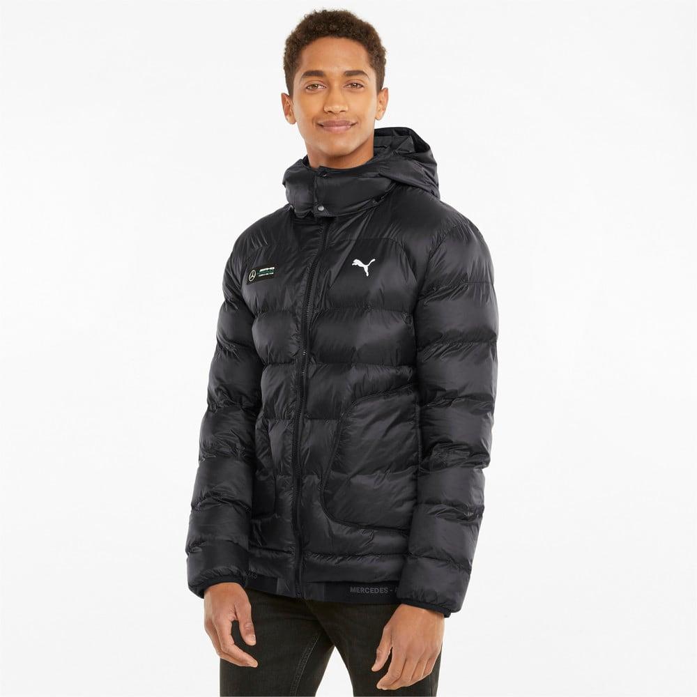 Изображение Puma Куртка Mercedes F1 Ready to React EcoLite Men's Jacket #1: Puma Black