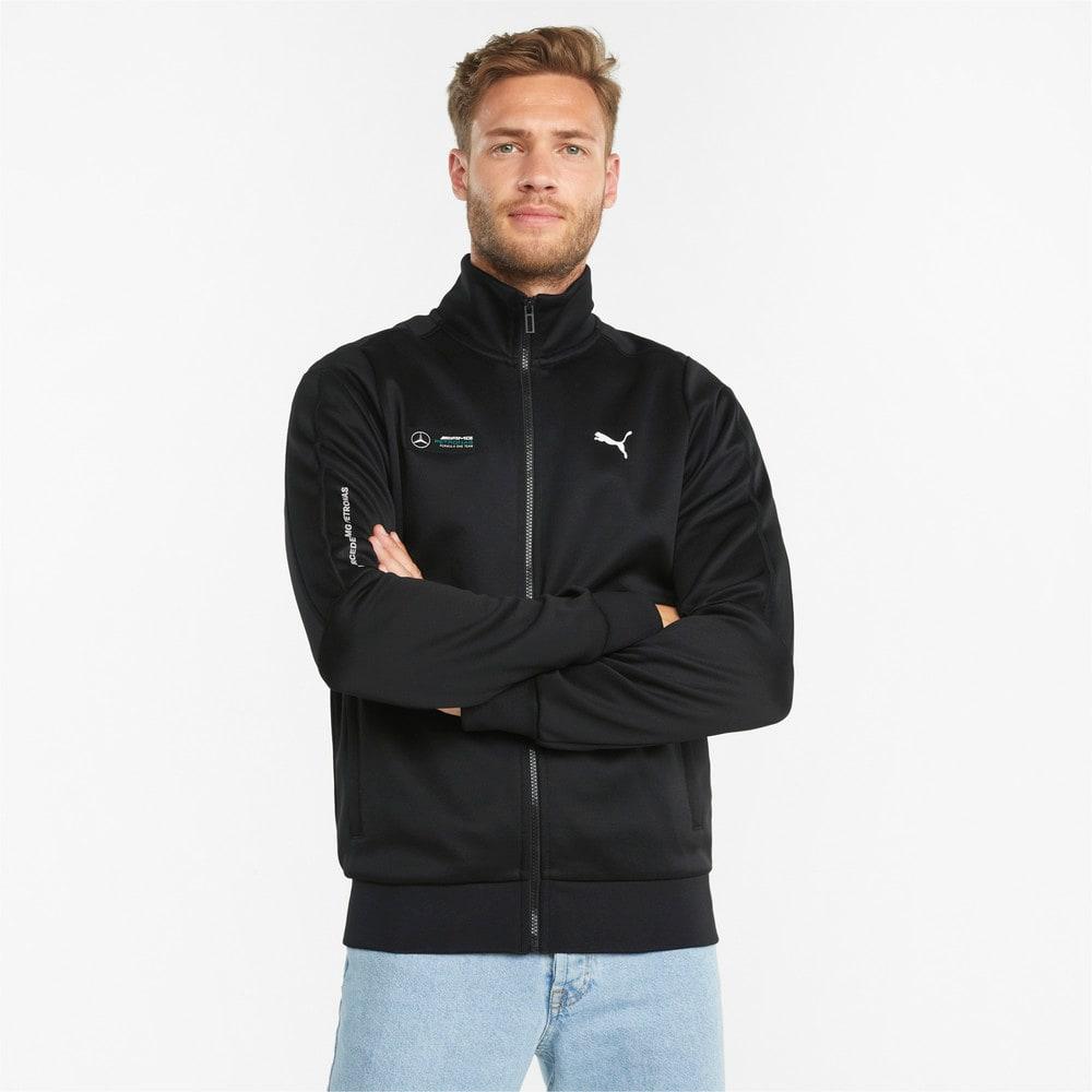 Зображення Puma Олімпійка Mercedes F1 T7 Men's Track Jacket #1: Puma Black