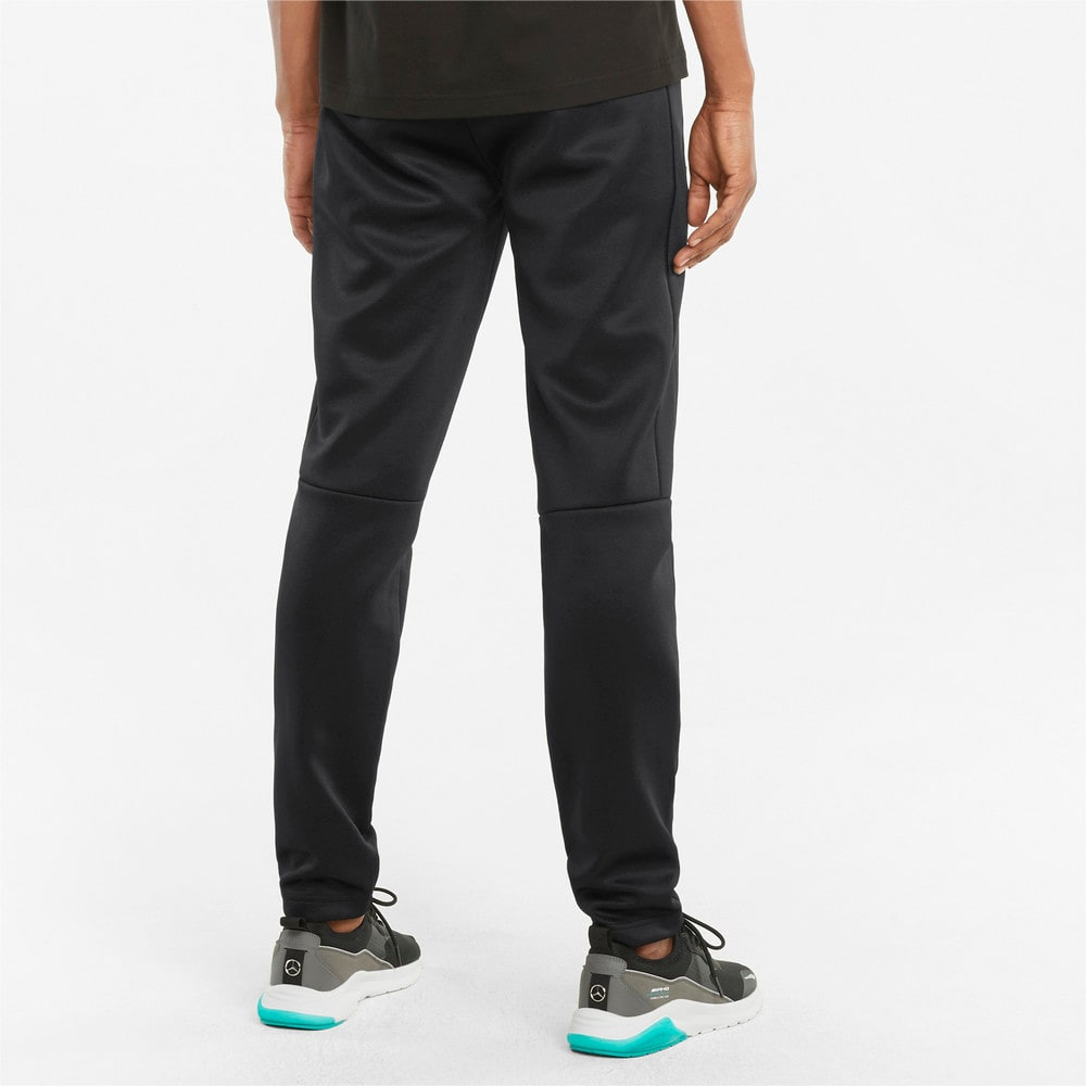 Изображение Puma Штаны Mercedes F1 T7 Slim Men's Track Pants #2: Puma Black