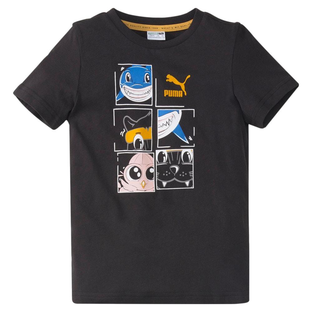 Зображення Puma Дитяча футболка LIL PUMA Kids' Tee #1: Puma Black