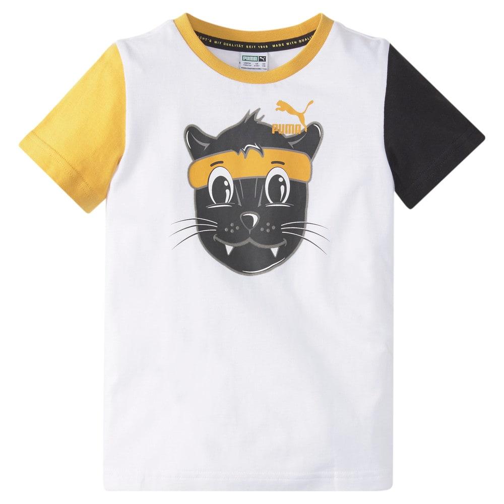 Зображення Puma Дитяча футболка LIL PUMA Kids' Tee #1: Puma White