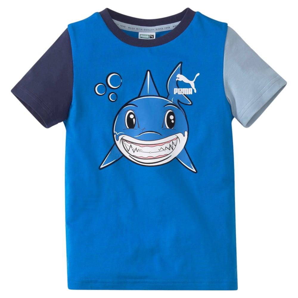 Зображення Puma Дитяча футболка LIL PUMA Kids' Tee #1: Future Blue