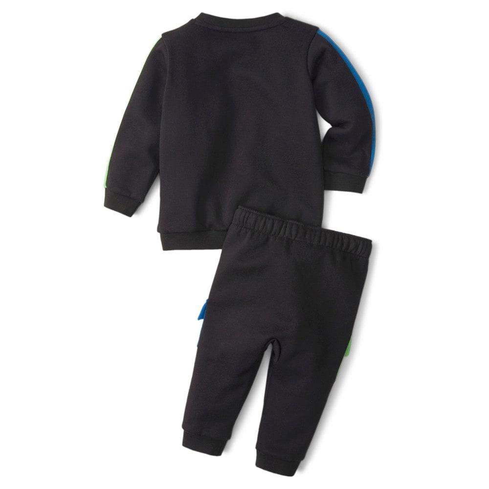 Изображение Puma Детский комплект Minicats CLSX Babies' Sweatsuit #2: Puma Black