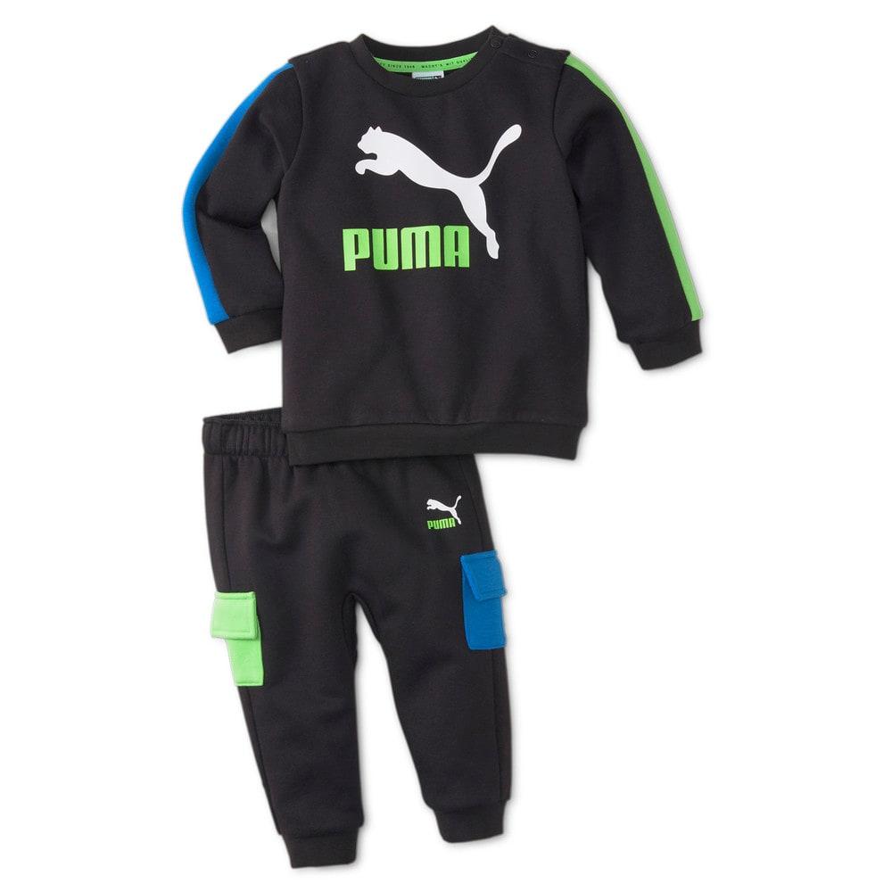Изображение Puma Детский комплект Minicats CLSX Babies' Sweatsuit #1: Puma Black