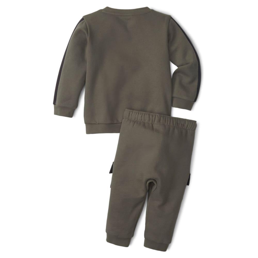 Изображение Puma Детский комплект Minicats CLSX Babies' Sweatsuit #2