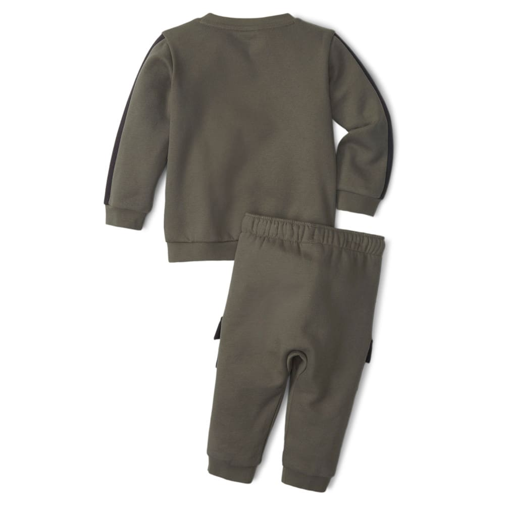 Изображение Puma Детский комплект Minicats CLSX Babies' Sweatsuit #2: Grape Leaf