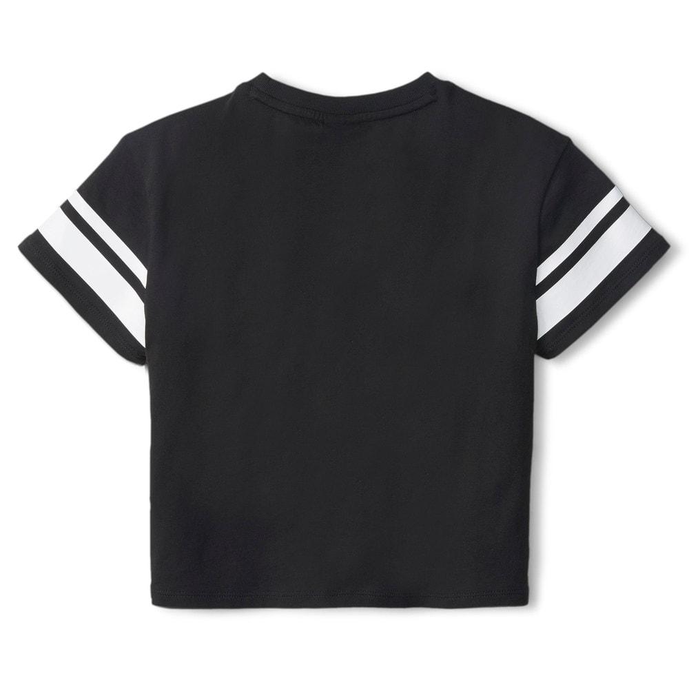 Зображення Puma Дитяча футболка PUMA x PEANUTS Kids' Tee #2: Puma Black