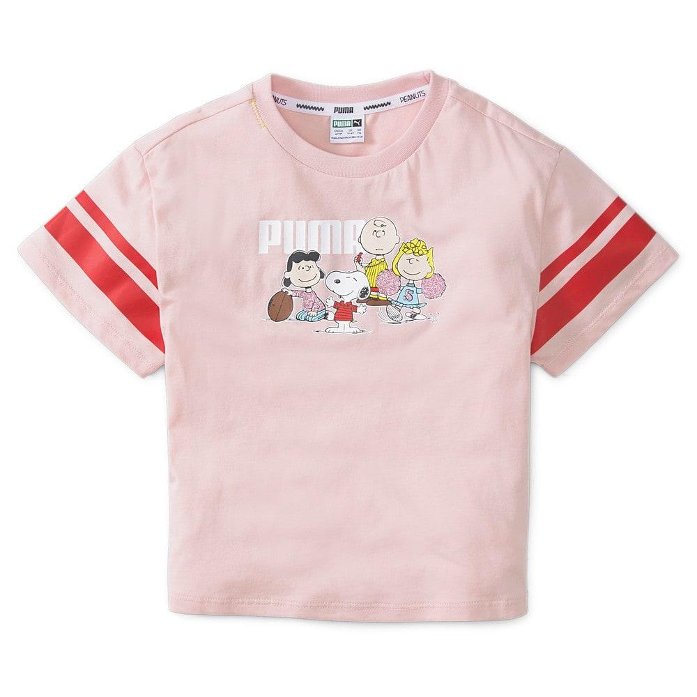 Изображение Puma Детская футболка PUMA x PEANUTS Kids' Tee #1: Lotus