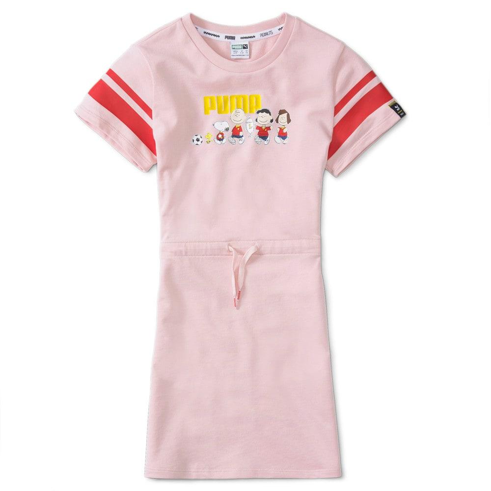 Изображение Puma Детское платье PUMA x PEANUTS Kids' Dress #1
