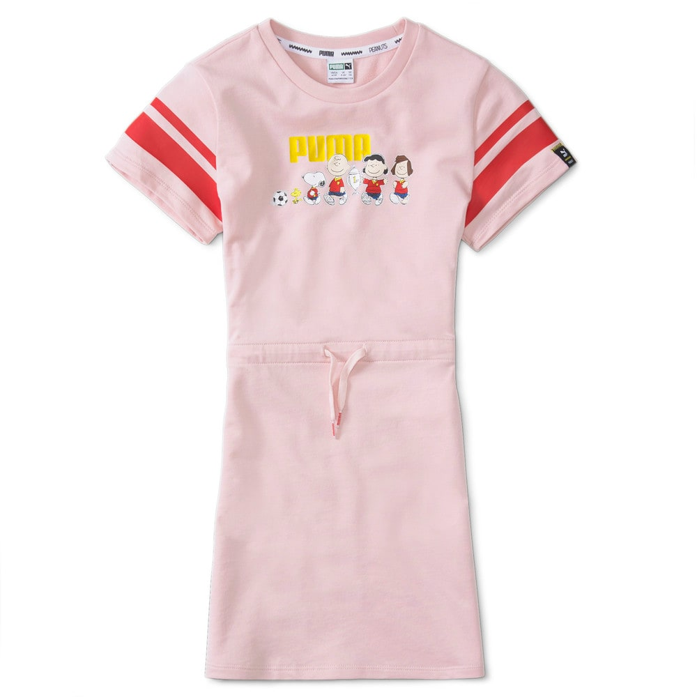 Изображение Puma Детское платье PUMA x PEANUTS Kids' Dress #1: Lotus