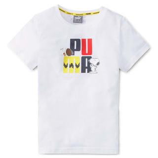 Image PUMA PUMA x PEANUTS Camiseta Kids