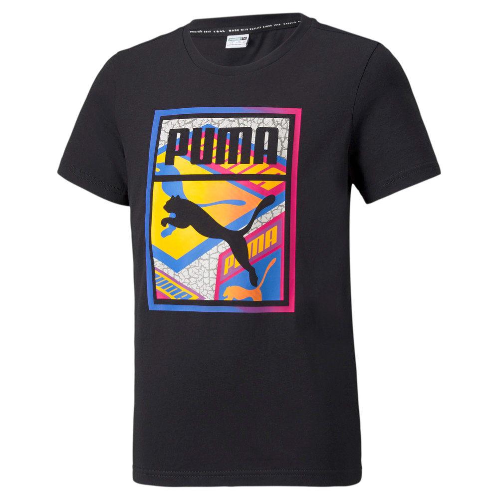 Изображение Puma Детская футболка Street Art Graphic Youth Tee #1