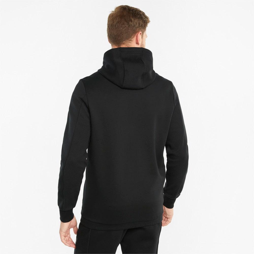 Изображение Puma Толстовка Mercedes F1 Hooded Men's Sweat Jacket #2: Puma Black