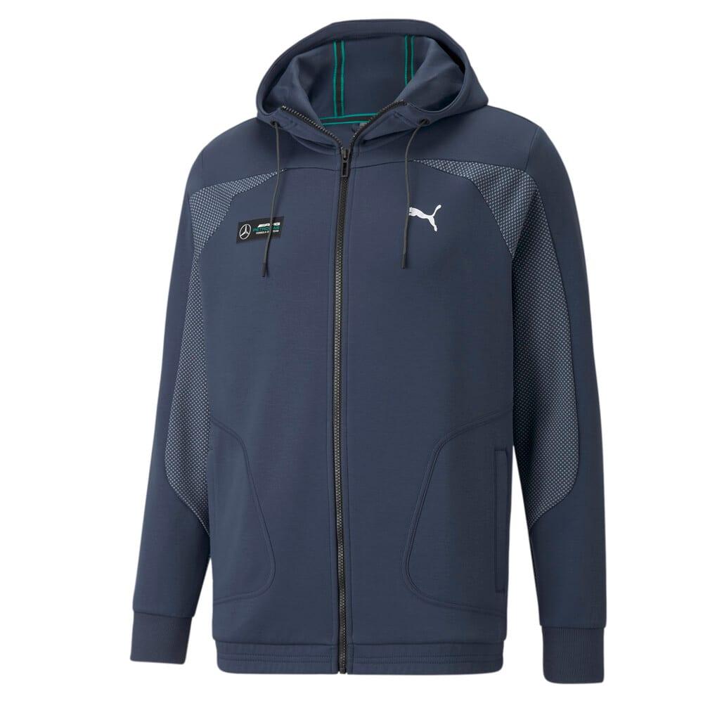Зображення Puma Толстовка Mercedes F1 Hooded Men's Sweat Jacket #1: Spellbound