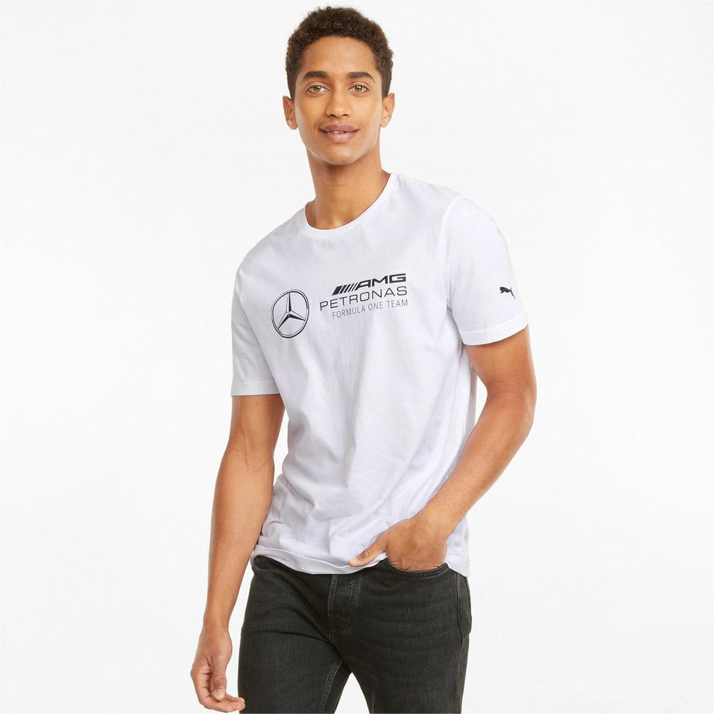 Зображення Puma Футболка Mercedes F1 Logo Men's Tee #1: Puma White
