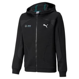 Изображение Puma Детская толстовка Mercedes F1 Hooded Youth Sweat Jacket