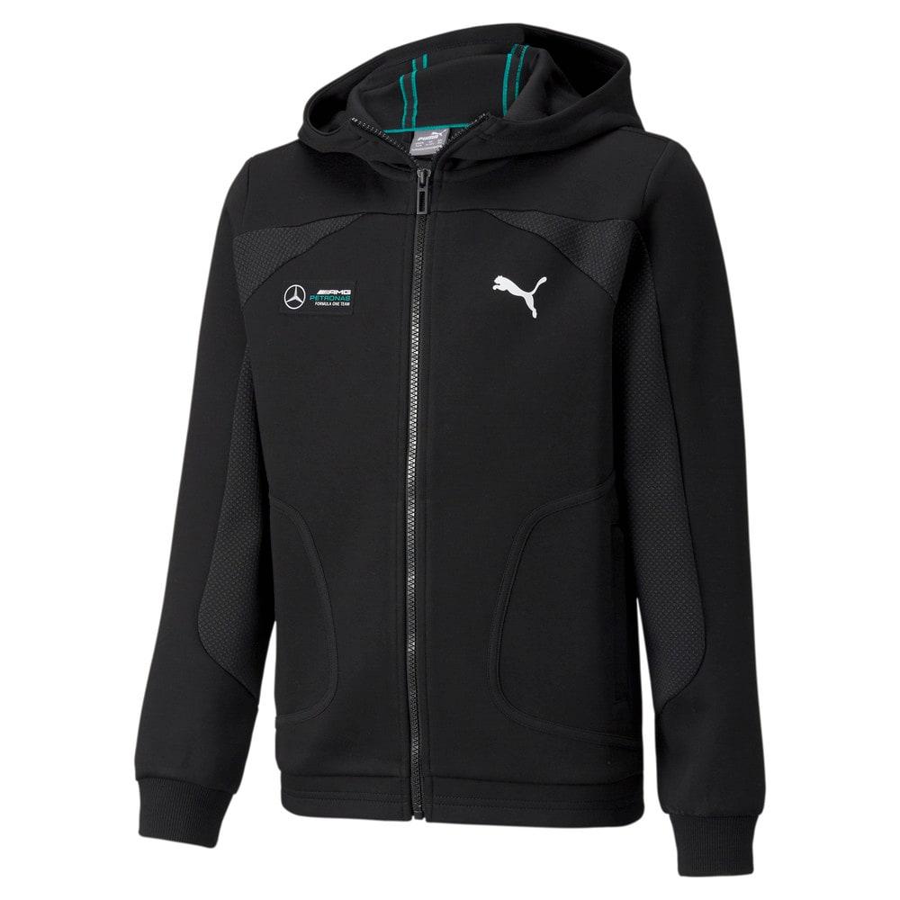 Image Puma Mercedes F1 Hooded Youth  Sweat Jacket #1